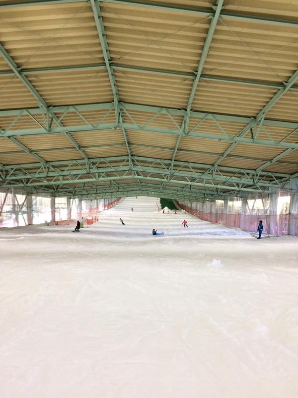 狭山スキー場ゲレンデ