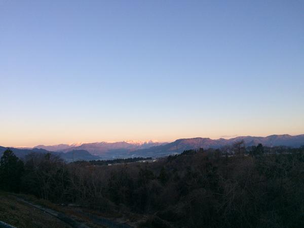 赤城高原saからの眺め