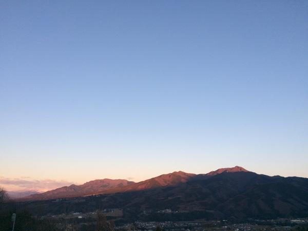 赤城パーキングエリアからの眺め