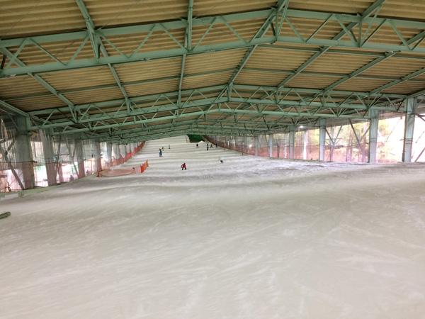 狭山スキー場、ゲレンデの状態