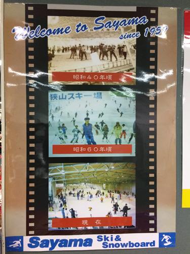狭山スキー場の歴史写真