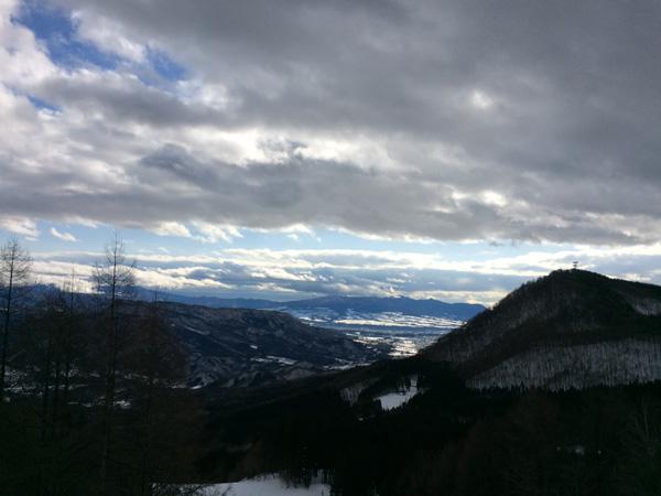 ノルン水上からの景色