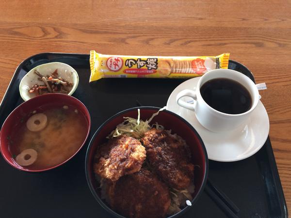 オクタ、ソースカツ丼