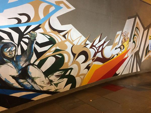 岩鞍、ゴンドラ壁画