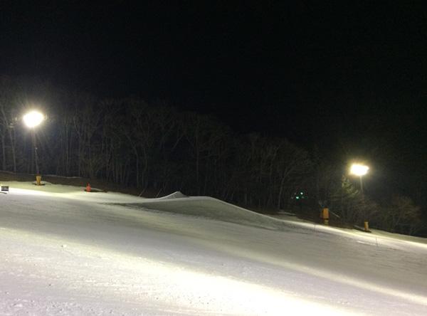 ノルン水上スキー場、キッカー