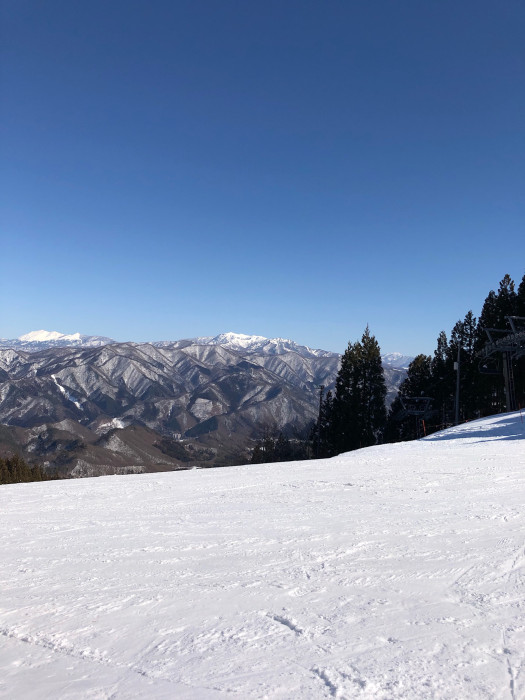 2021シーズン初滑り、ノルン水上スキー場